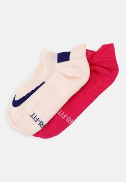 Nike Performance - MULTIPLIER MAX 2 PACK - Sportsocken - pink/off white