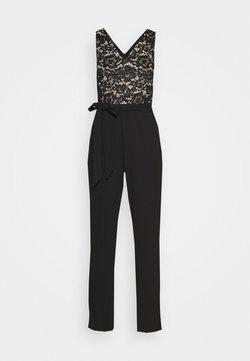 DKNY - DOUBLE V - Jumpsuit - black/nude