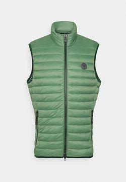 Marc O'Polo - VEST REGULAR FIT - Weste - basalt green