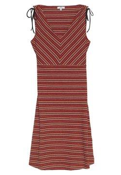 TOM TAILOR - DRESS SHORT - Jerseykleid - red
