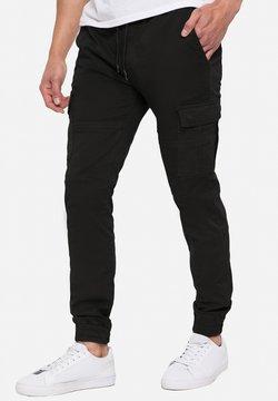 Threadbare - Reisitaskuhousut - schwarz