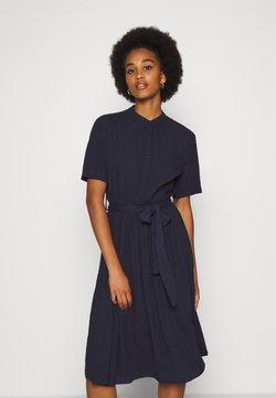 YAS - YASVERONICA  DRESS - Skjortekjole - navy blazer