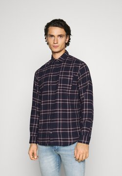 Jack & Jones - JJPLAIN CHECK - Hemd - navy blazer