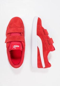 Puma - SMASH UNISEX - Matalavartiset tennarit - high risk red/white