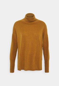 pure cashmere - TURTLENECK - Strickpullover - dust gold