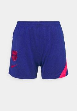 Nike Performance - FC BARCELONA DRY SHORT  - Club wear - deep royal blue/light fusion red