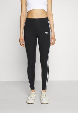 adidas Originals - STRIPES COMPRESSION - Leggings - Hosen - black
