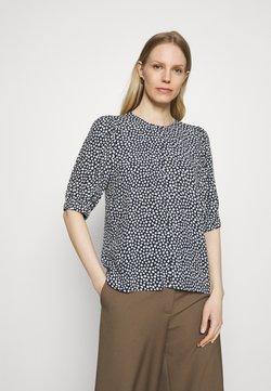 Marks & Spencer London - DITSY PUFF SLEEV - T-Shirt print - black