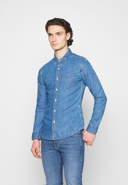 Levi's® - SUNSET SLIM - Camisa - med indigo