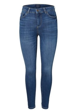 Pieces - Slim fit jeans - medium blue denim