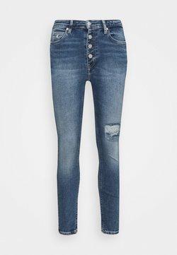 Calvin Klein Jeans - HIGH RISE SKINNY - Jeans Skinny Fit - denim medium
