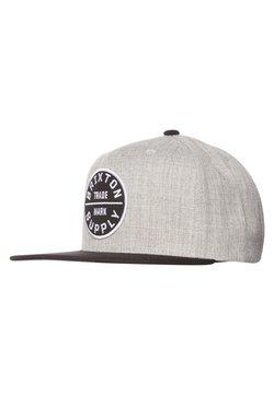 Brixton - OATH SNAPBACK - Cap - heather grey