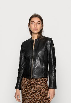Gipsy - ZAI LASTAV - Leather jacket - black