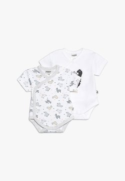 Jacky Baby - KURZARM 2 PACK - Body - off white