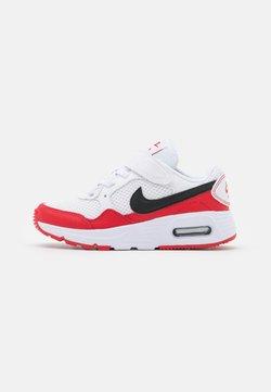 Nike Sportswear - AIR MAX SC UNISEX - Sneakers laag - white/black/university red
