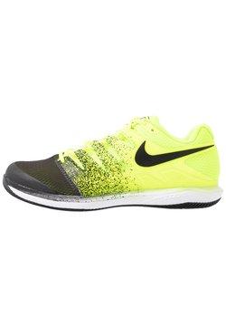 Nike Performance - AIR ZOOM VAPOR X - Buty tenisowe uniwersalne - volt/black/white
