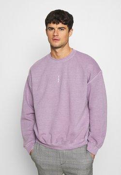 Topman - VERT ROME PRINT - Sweatshirt - lilac