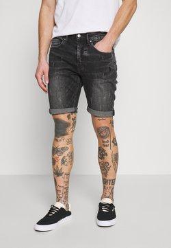 Tigha - SOLOMON - Jeansshort - dark grey