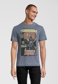 Re:Covered - STAR WARS EMPIRE STRIKES BACK - T-Shirt print - blau