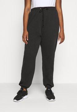 Missguided Plus - PLUS SIZE 90S JOGGERS - Jogginghose - black