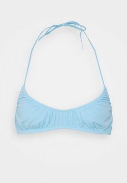 Weekday - CLOUD TRIANGLE SWIM - Bikini top - light blue