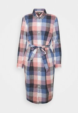 Barbour - TERN CHECK DRESS - Blusenkleid - oyster pink
