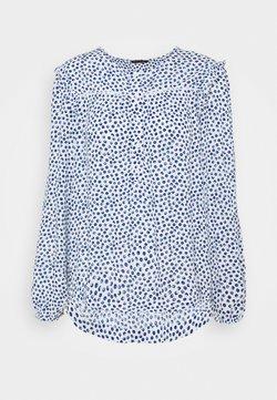 Marks & Spencer London - FRILL SHOULDER - Bluse - white