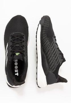 adidas Performance - SOLAR BOOST 19 - Obuwie do biegania treningowe - core black/footwear white/signal green