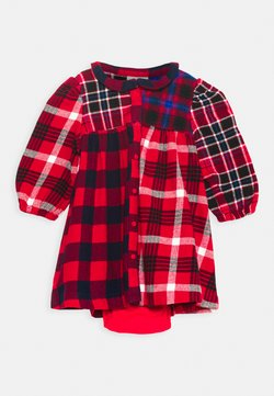 GAP - PLAID - Freizeitkleid - red
