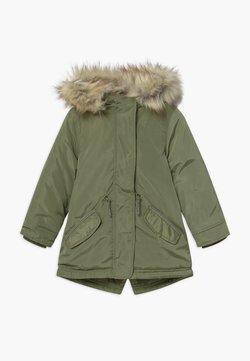 Lemon Beret - SMALL GIRLS - Winterjas - deep lichen green