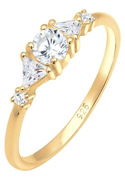 Elli - ZIRKONIA  - Ring - gold-coloured