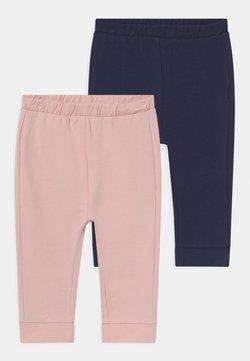 OVS - SOLID 2 PACK - Pantalones - lotus/insignia blue