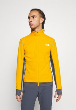 The North Face - SPEEDTOUR JACKET - Chaqueta softshell - summit gold/grey