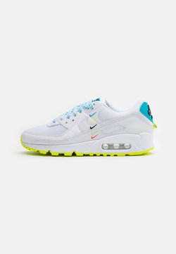 Nike Sportswear - AIR MAX 90 - Baskets basses - white/blue fury/volt/black