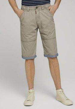 TOM TAILOR - Shorts - chinchilla