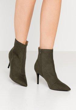Anna Field - High heeled ankle boots - dark green
