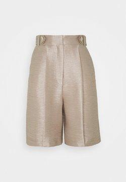 River Island - Shorts - putty metallic