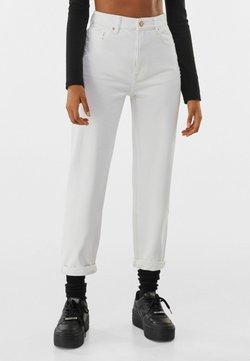 Bershka - Jean slim - white