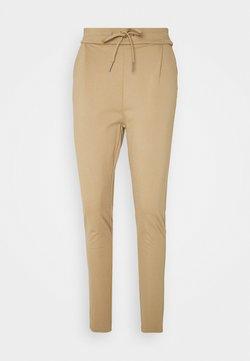 Vero Moda Tall - VMEVA LOOSE STRING PANTS  - Trainingsbroek - sepia tint