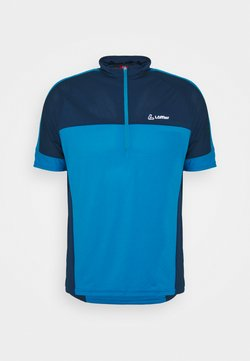 LÖFFLER - BIKE PACE - T-Shirt print - blue lake