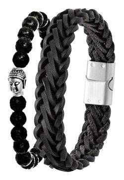 Lucardi - Armband - zwart