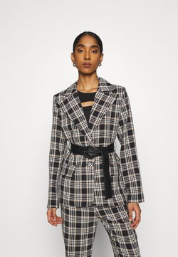 Fashion Union - VAMY BLAZER - Blazer - black