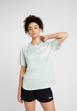 Nike Performance - DRY - T-Shirt print - pistachio frost/silver pine/rose gold