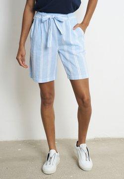 recolution - Shorts - dusk blue / white