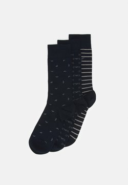 Emporio Armani - SHORT SOCKS 3 PACK - Calze - blu navy