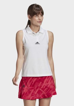adidas Performance - TENNIS MATCH TANK TOP HEAT.RDY - Polo - white
