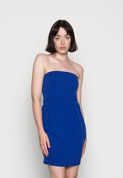 WAL G. - PIPPA BACK STRING DRESS - Trikoomekko - electric blue