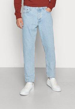 Weekday - BARREL CROPPED TROUSER - Straight leg -farkut - splendid blue