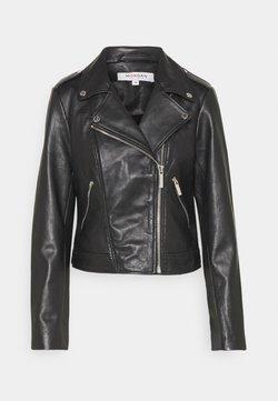 Morgan - GROCK - Leather jacket - noir