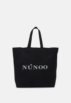 Núnoo - BIG TOTE LOGO - Shoppingväska - black